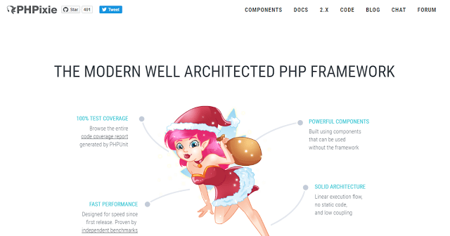 phpixie best php framework for web development