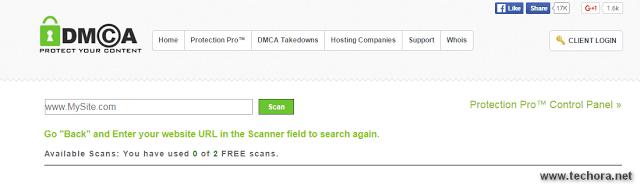 DMCA scan free online plagiarism checker tools