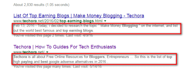 How To Add Meta Description To Every Posts in Blogger