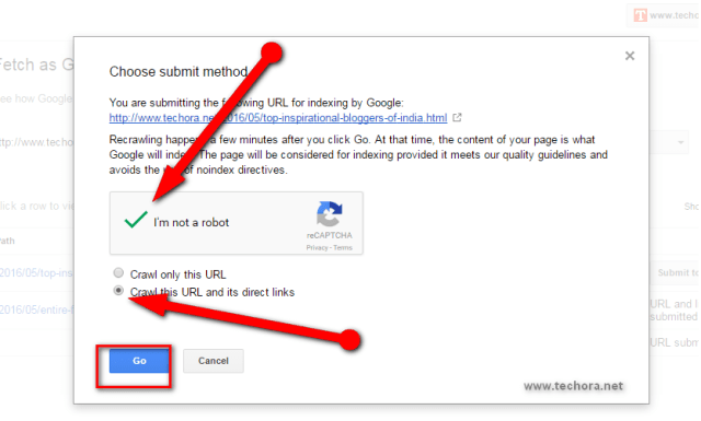 fetch as google submit url to google webmaster tools