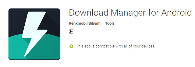 best android app Download Manager For Android phone user