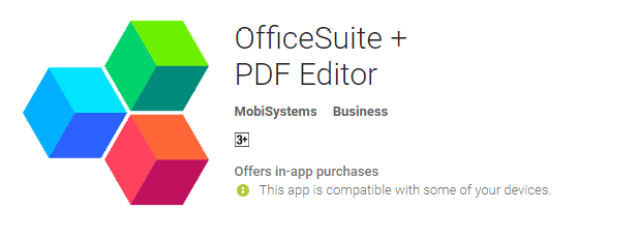 Offie Suite + PDF Editor the cool android app for android user