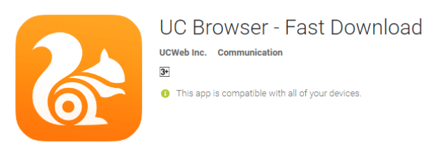 UC Browser - Fast Download the cool android app for android user