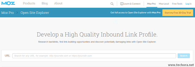 MOZ open site explorer best seo tools for website owners
