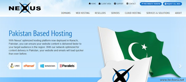 image of nexus technologies best and cheap web hosting provider in Pakistan