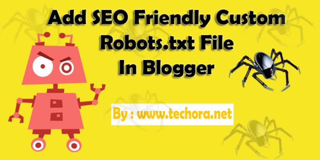 image about seo friendly custom robots.txt file in blogger blogs