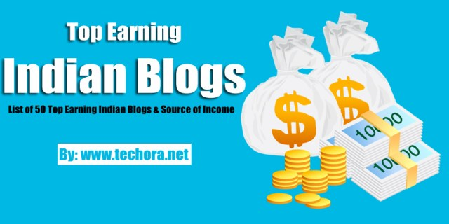 image about 50 best earning Indian bloggers that make money online via blogging