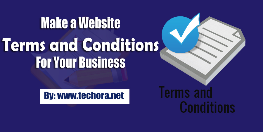 How To Make A Website Terms And Conditions For Your Business - Legal documents websites