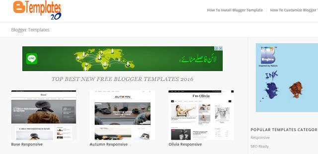 blogger templates 20 the best website to download free blogger templates