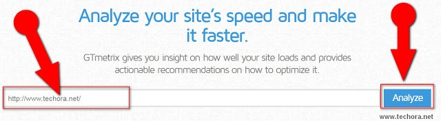 GTMetrix to check website speed test and performance and how to improve it