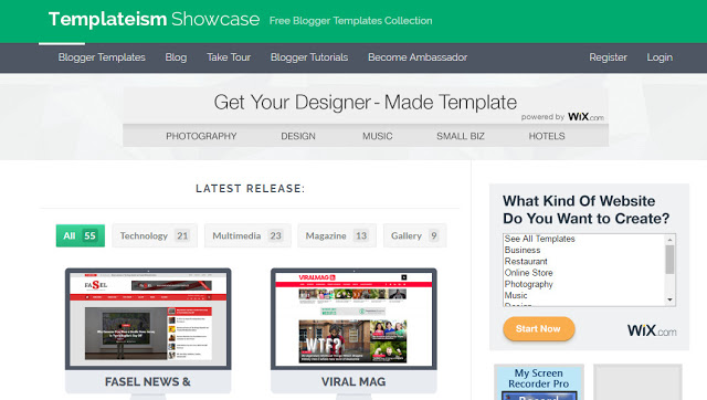 image about templateism the best website to download free blogger templates