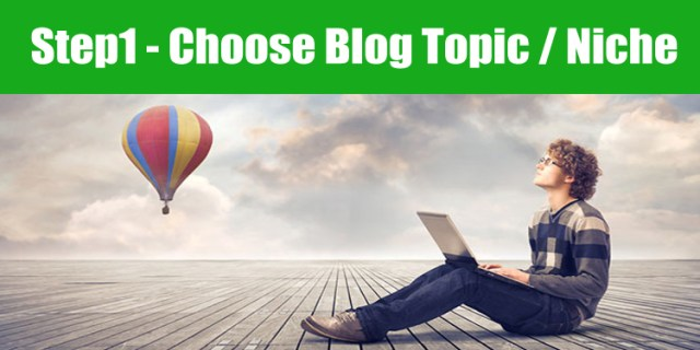 image : choose best blog topic / niche market idea for your website