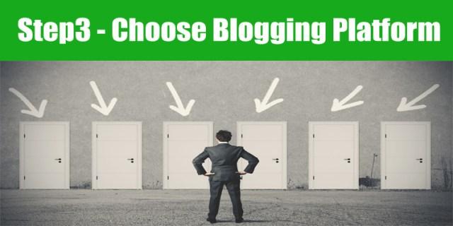 image : how to choose best blogging platform for starting a blog