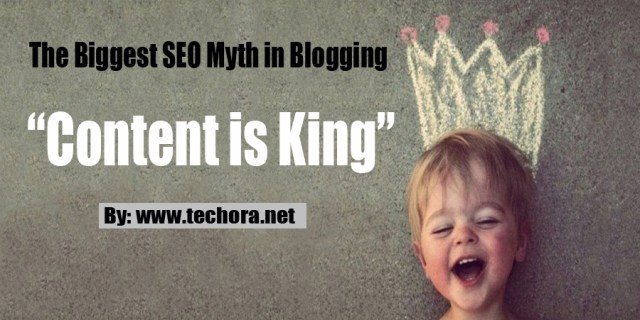 "image: ""Content is King"" - The Biggest SEO Myth in Blogging"