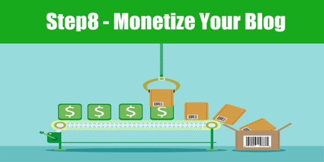 image: how to monetize your blog with ads, affiliate links