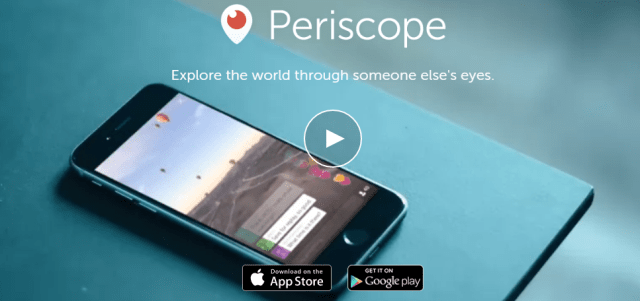image: Periscope Top Social Media Sites People Are Using Worldwide