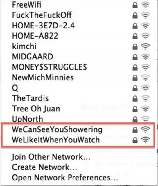 180+ Funny Wi-Fi Router Names [ Best WiFi Names Inside ] in 2017
