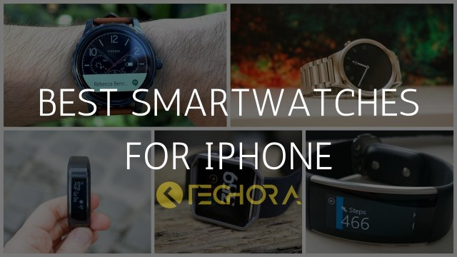 Top 5 Best Smartwatches for iPhone [Apple Watch Alternatives]