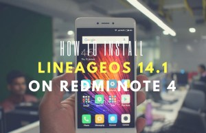 LineageOS 14.1 ROM on Redmi Note 4