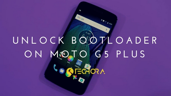 Unlock Bootloader on Moto G5 Plus