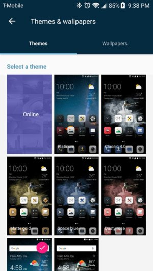 Enable Theme Store on ZTE Axon 7