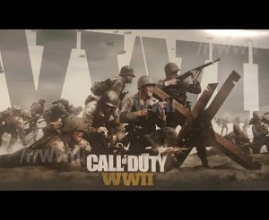 Call of Duty WW2 - 'Leaked' artwork for new CoD