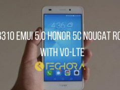 Download B310 EMUI 5.0 Honor 5C Nougat ROM With Vo-LTE