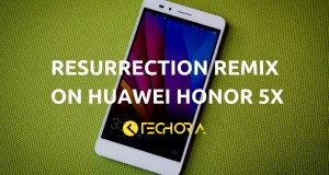 How to Install Official Resurrection Remix OS on Huawei Honor 5X