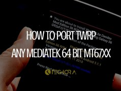 How to Port TWRP for MediaTek 64 bit MT67XX Devices