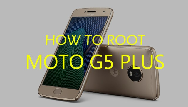 Root and Install TWRP Recovery on Moto G5 Plus