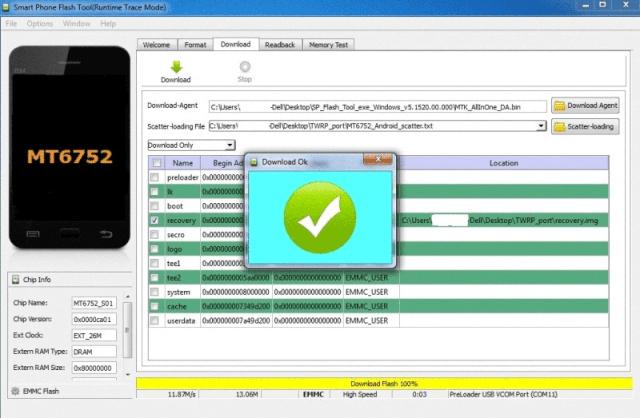 Port TWRP for MediaTek 64 bit MT67XX