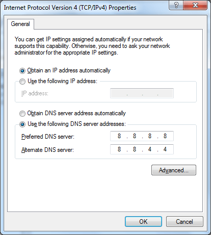 How to Fix DNS Probe Finished NxDomain Error in Google Chrome