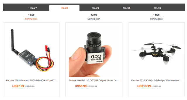 Eachine Brand Day from Banggood