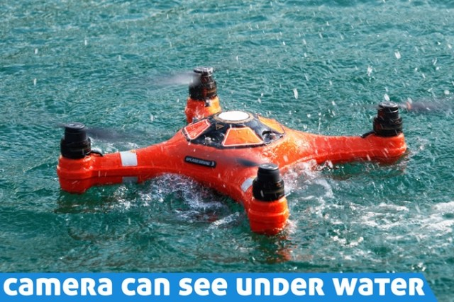 Waterproof Camera that can see Under Water