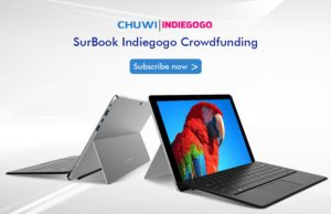 Chuwi SurBook Campaign Soon Available To Back Via Indiegogo