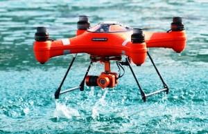 Splash Drone 3 - A Fully Waterproof Drone Designed by SwellPro