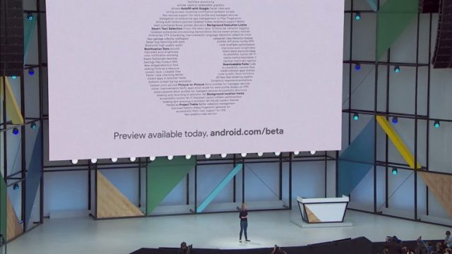 Android O First Beta Announced At The Google I/O 2017