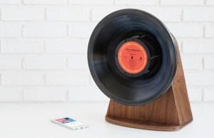 Vintage Vinyl Wireless Bluetooth Speaker