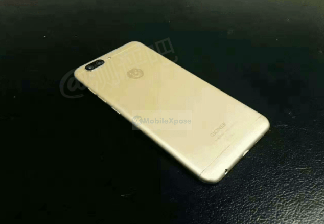 Gionee S10 rear view