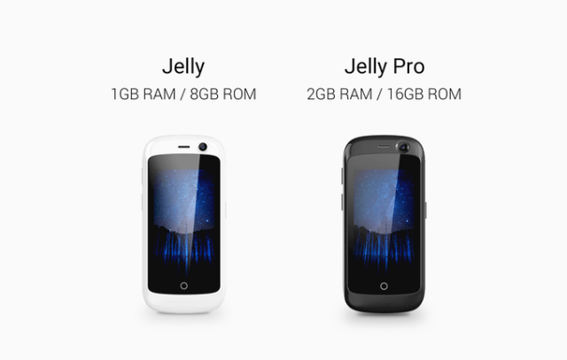 Jelly, The Smallest 4G Smartphone