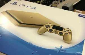 Sony PlayStation 4 Gold Edition