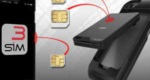 E-Clips: Triple Dual SIM adapter for iPhone and Android Smartphones