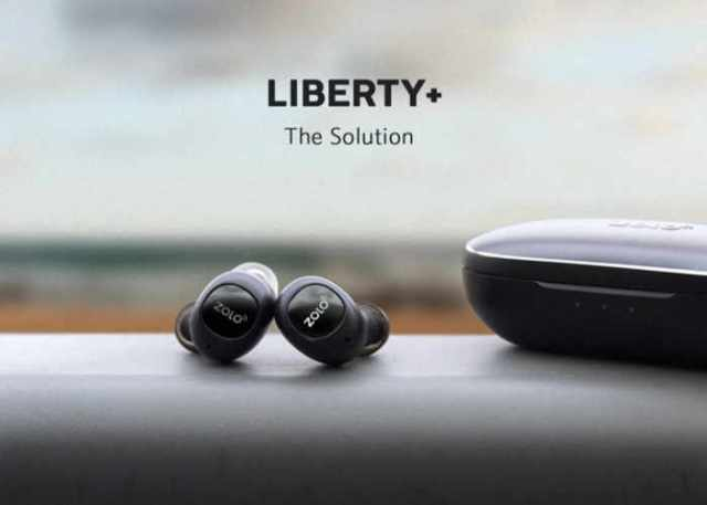 Liberty+ Earbuds: World's First Zero-Compromise Total-Wireless Earphones