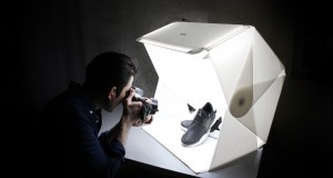 Foldio3 Portable Photo Studio with Boasts Magnetic Structure, Optional Halo Bar
