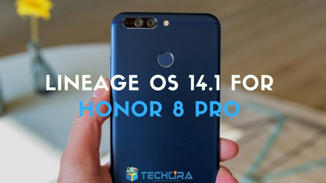 Lineage OS 14.1 on Honor 8 Pro