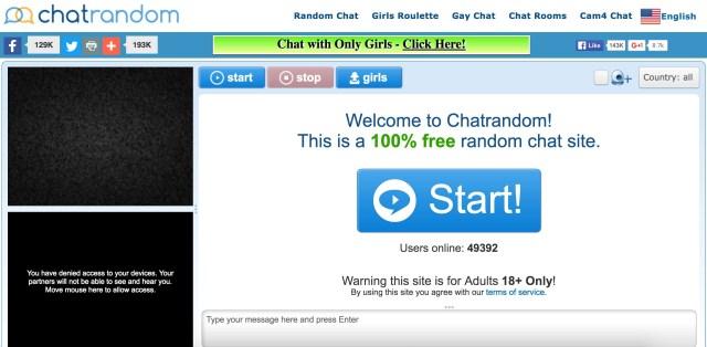 Best random chat sites dating