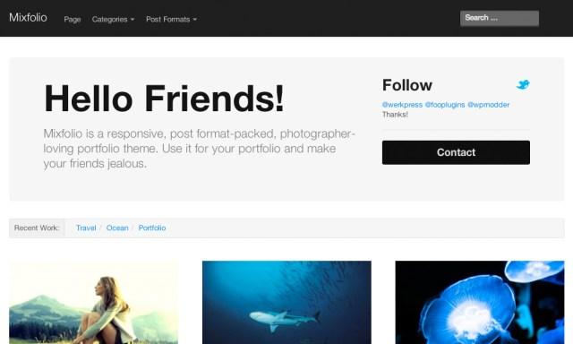 15+ Best Free WordPress Portfolio Themes 2017