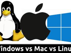 Windows vs. Mac vs. Linux