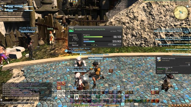 crafting HOW TO MAKE FFXIV GIL IN HEAVENSWARD