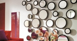 How to make a stylish decoration with a mirror in your home